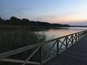 Sonnenuntergang See Binz Ruegen