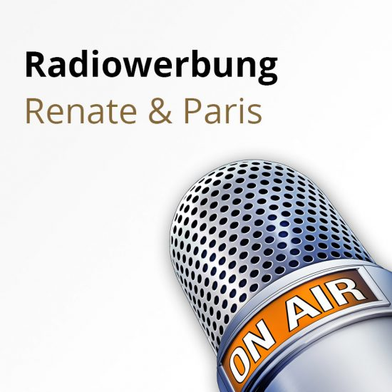 Radiowerbung_Renate_Paris