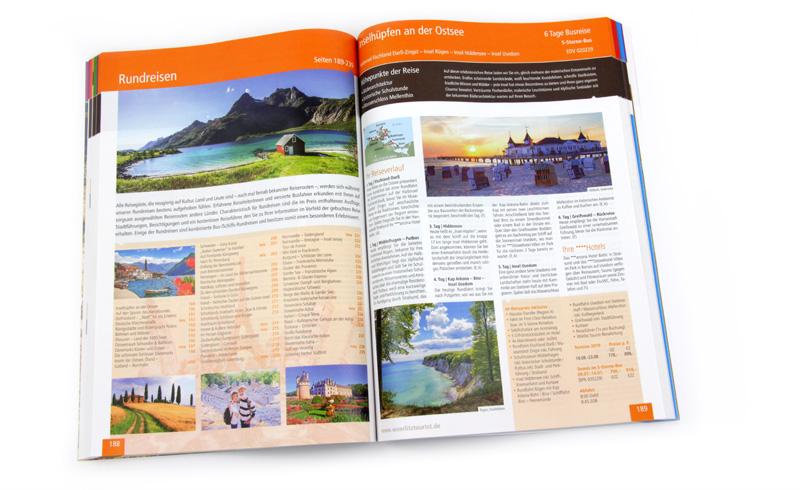 Katalogproduktion - Ansicht fertige Katalogseite