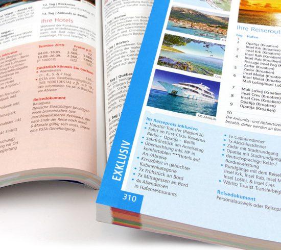 Katalogproduktion_Eindruecke eines Reisekatalogs