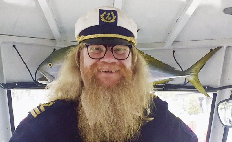 Ocean Bus Stockholm - Kapitän John
