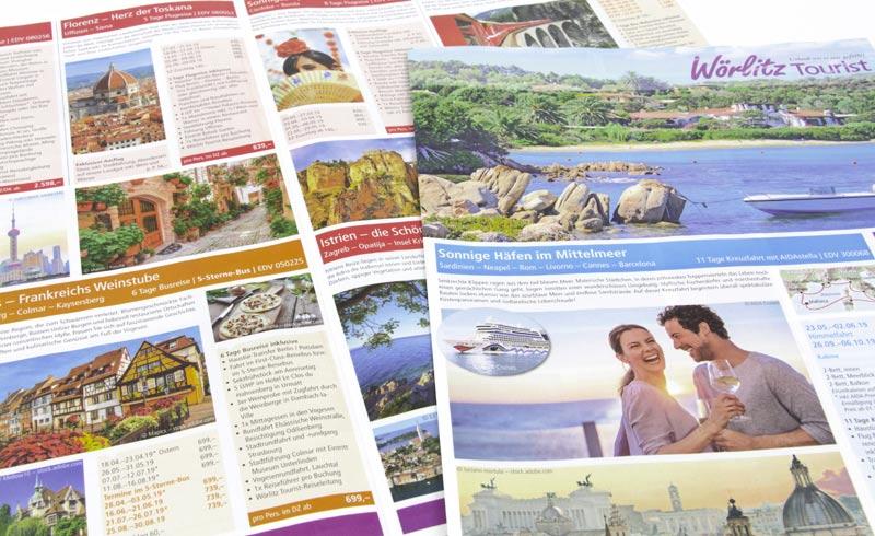12-seitige Zeitungsbeilage von Wörlitz-Tourist