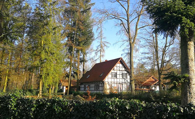Blick auf Gut Klostermühle