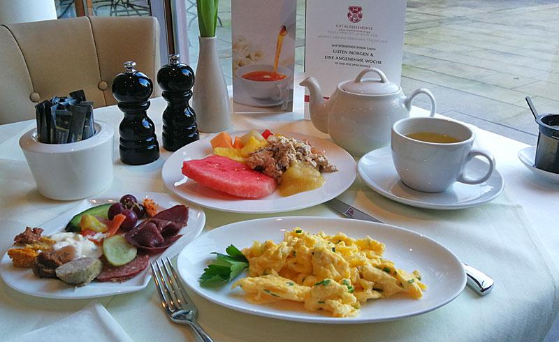 Frühstück auf Gut Klostermühle