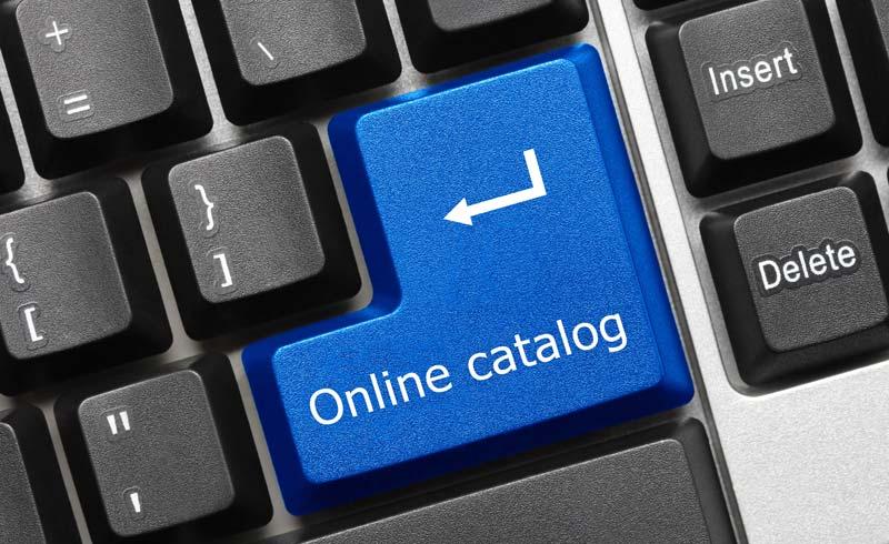 Digitalisierung der Katalogproduktion - Online-Katalog