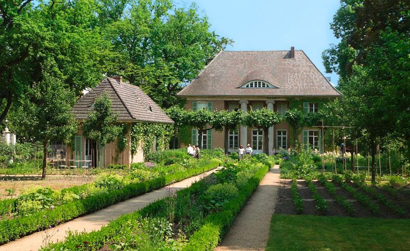 Liebermann-Villa, Blick in den Garten