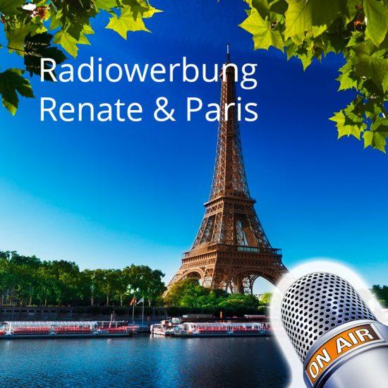 Radiowerbung, Tourismus, Paris