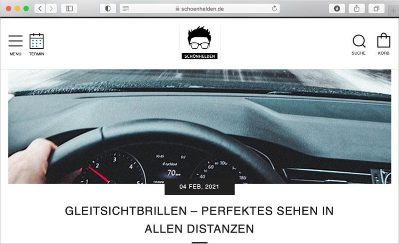 Blogtexte für den Kunden Schönhelden in Berlin schreiben