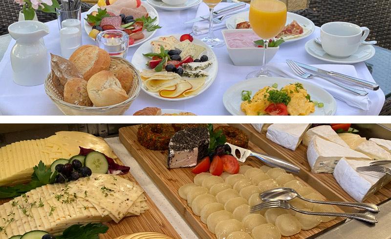 Strandhotel Seerose, Frühstück, Büfett