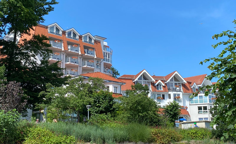 Strandhotel Seerose, Hotelansicht