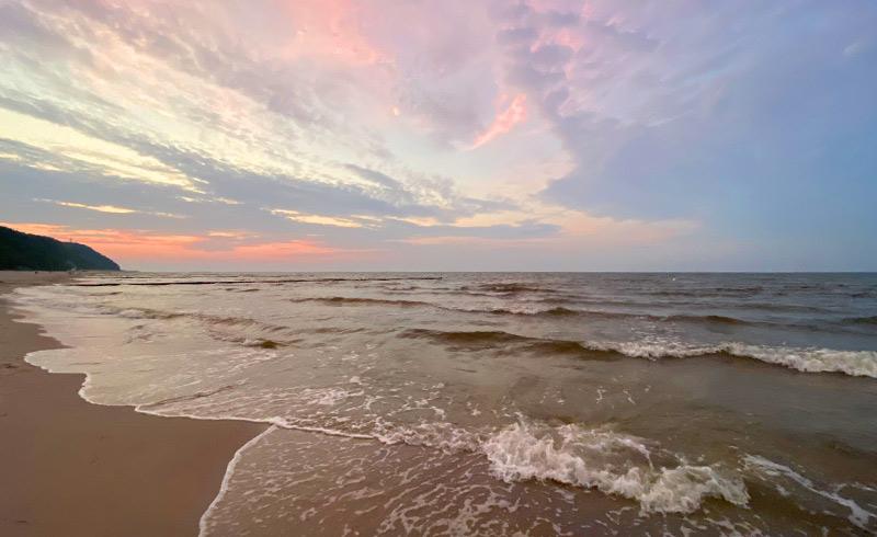 Strandhotel Seerose, Sonnenuntergang